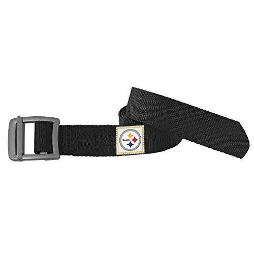 Buckle Steelers (NFL Pittsburgh Steelers Field Belt, Small/Medium)
