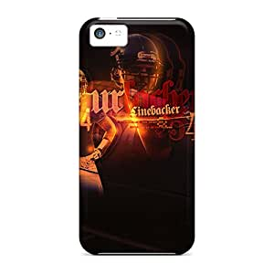 JonBradica Cases Covers For Iphone 5c - Retailer Packaging Chicago Bears Protective Cases