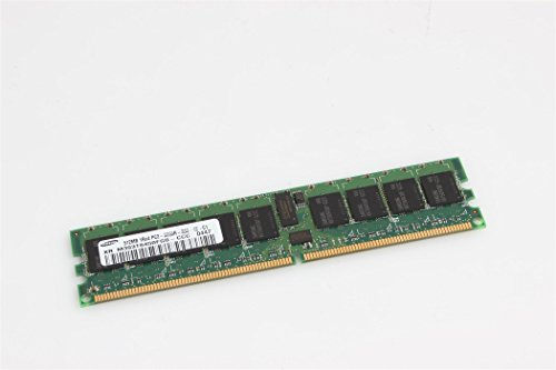 SAMSUNG - Samsung 64x72 512MB DDR2 PC2-3200 ECC Reg - (Samsung 512mb Ddr2 Pc2)
