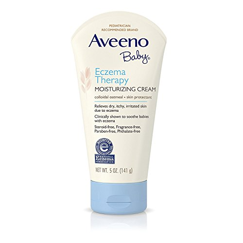 Aveeno Baby Eczema Therapy Size 5oz. Pack of 3 (Aveeno Baby Eczema Therapy Moisturizing Cream 5 Ounce)