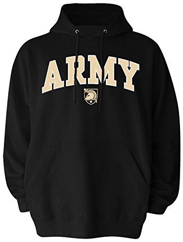Sweatshirt Military Logo (Old Varsity Brand NCAA Army Black Knights Men's Big Pullover Hoodie, 2X-Large Tall, Black)