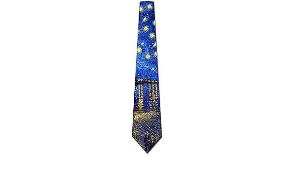 El arte ata la corbata de la pintura de Van Gogh Rhone de los ...