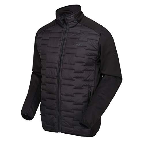 Regatta Men's Clumber Hybrid Stretch Water Repellent Compressible Lightweight Hybrid Jacket Jacket