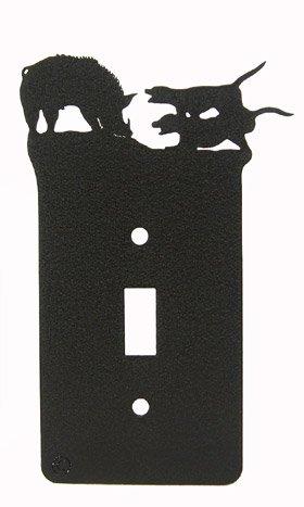 Wild Hog Doggin' Single Light Switch Plate Cover