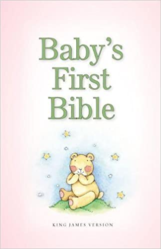 Baby's First Bible, Kjv Pink by Zondervan (May 6 2013