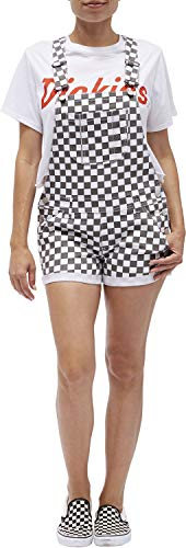 Dickies Girl - Stretch Shortall Roll Hem, Size: Small, Color: -