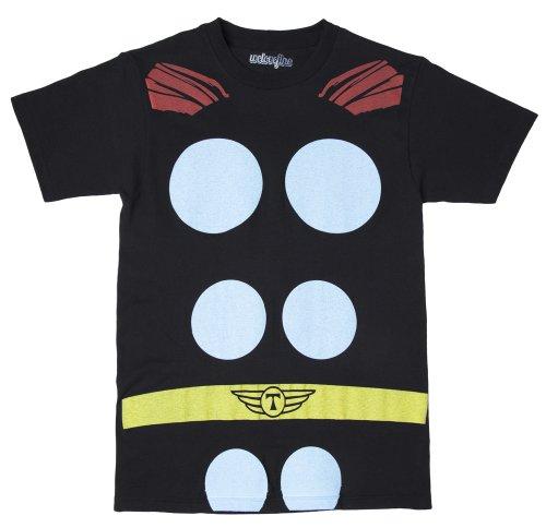 Thor Costumes Shirt (Marvel - Thor Costume T-Shirt (X-Large))