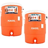 Igloo 10 Gallon Water Cooler, 2 Pack