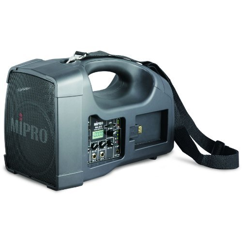 Mipro Portable Pa System (MIPRO MA-202 (6A) Portable Personal Wireless Rechargeable PA System w/USB & SD MP3 Reader - 6A Band)