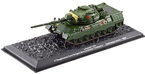 Deagostini 1:72 Diecast Model Tank - Leopard 1 A2 4 Reggimento Carri Brigata Meccanizzata Centauro Bellinzago Italy 1998 Army Tank #23