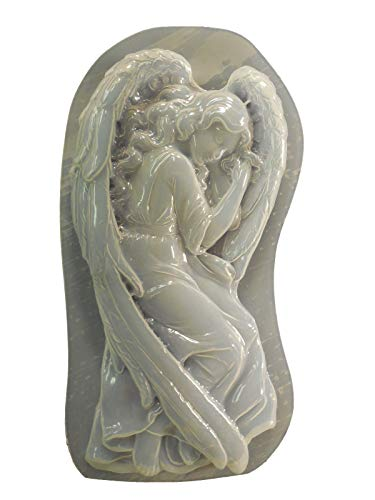 Large Angel Laying Concrete or Plaster Mold 7261