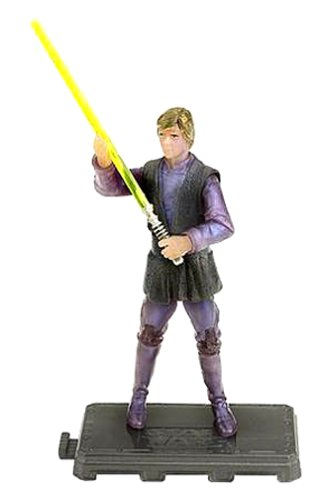Luke Skywalker Jabbas Palace - Star Wars: Episode 2 Luke Skywalker at Jabba's Palace (Holographic) Action Figure