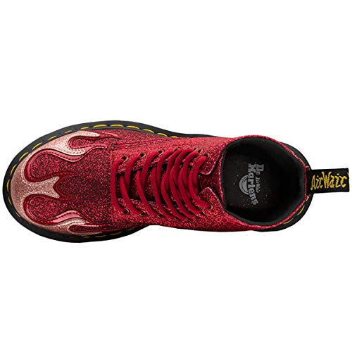 Stivali pink Donna Red Flame Martens Dr Rosso Pascal 1460 IqxBXO8