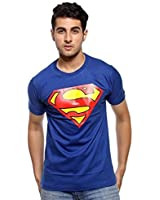 B2 CLASSIC superman tshirt For Men Blue Color