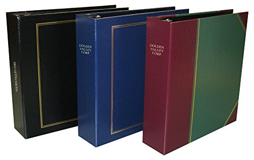 - Custom Personalized 3-Ring Binder - Minute Book, Portfolio, Organizer, Planner - 3 Sizes and multiple colors available (2