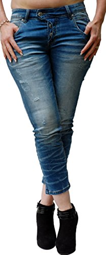 Para Vaqueros Blue Monkey Mujer Jeans nqYZw7x4