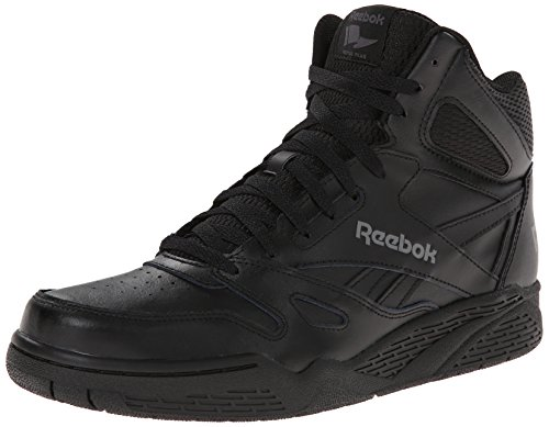 Reebok Men's Royal Bb4500h Xw Fashion Sneaker, Black/Shark, 9.5 4E US High Top Athletic Shoes
