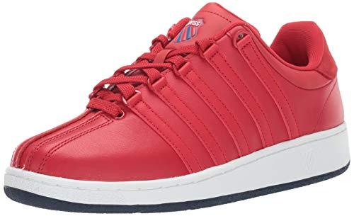 K-Swiss Men's Classic VN Heritage Sneaker, red-Navy, 7 M ()