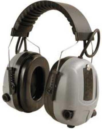 Headband Ear Muffs, Gray/Black, NRR 25 dB