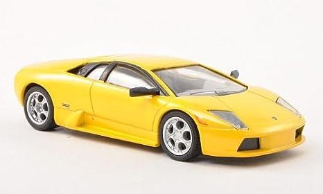 Lamborghini Murcielago Amarillo Met Modelo De Auto Modello