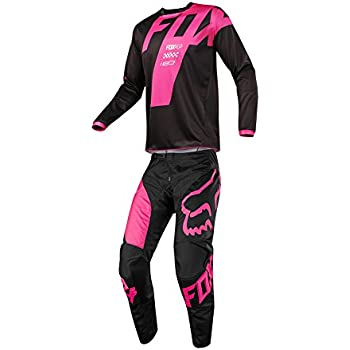 46143d716 Fox Racing 2018 180 Mastar Jersey Pants Adult Mens Combo Offroad MX Gear  Motocross Riding Gear Black