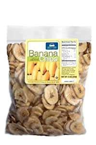 Great Lakes Int'l Trading Banana Chips (2 - 12oz Ziplock Bags)