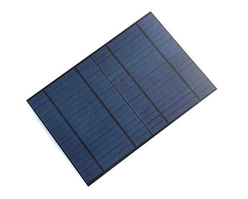 XINI INDUSTRIAL 1pcs 10w 18v 555ma 318x215mm Mini Polysilicon Solar Panel Module DIY Polysilicon Solar Epoxy Cell Charger