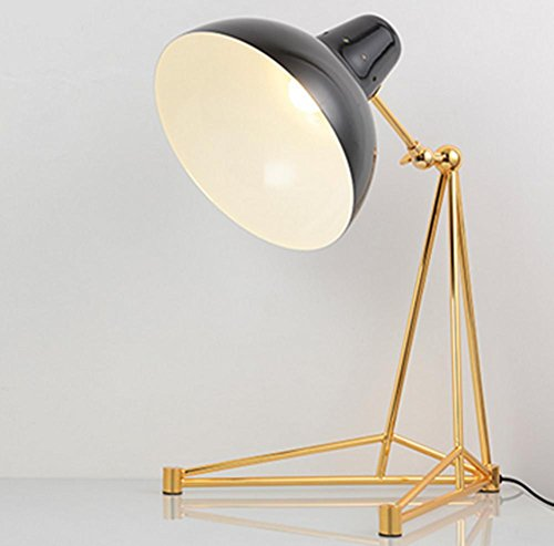 DMMSS Modern industrial retro creative desk lamp fashion decoration living room bedroom bedside lamp , 3 by DMMSS