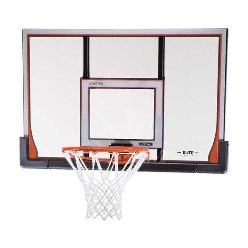Lifetime Basketball Backboard and Rim Combo 90010 50-inch ShatterGuard System