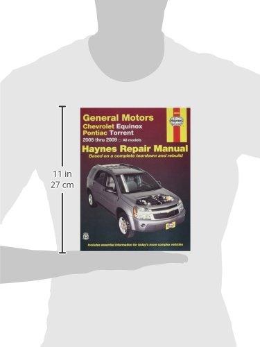 amazon com haynes chevrolet equinox 2005 thru 2009 and pontiac rh amazon com 2005 chevy equinox repair manual pdf 2005 Chevy Equinox Jump Start