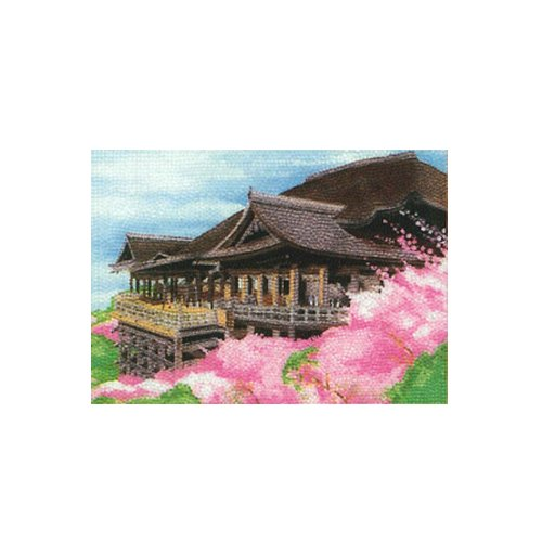 "Hamanaka adult hand work ""bead painting"" starter kit [M] / Kiyomizu Temple full-color type"