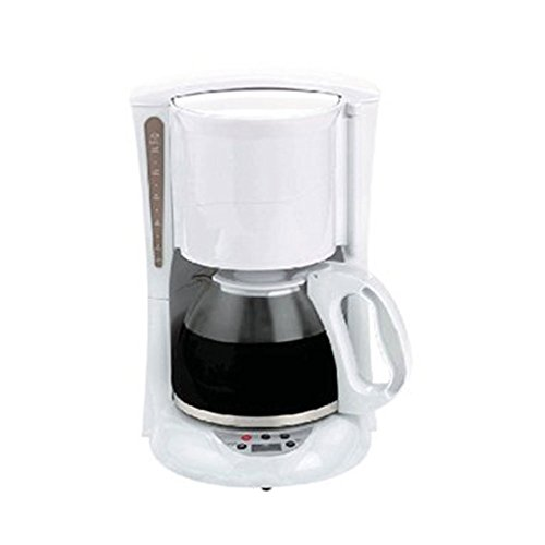 Brentwood TS-218W Digital Coffee Maker 12-Cup White Home & Garden