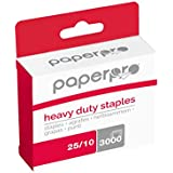 PaperPro Heavy Duty Staples, 3/8 Inch Leg, 65 Sheet Capacity, 3000/Box (1962)