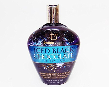 Brown Sugar ICED BLACK CHOCOLATE Black Bronzer - 13.5 oz.