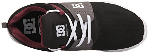 DC Herren Heathrow Casual Skate Schuh Rüstung / Oxblood
