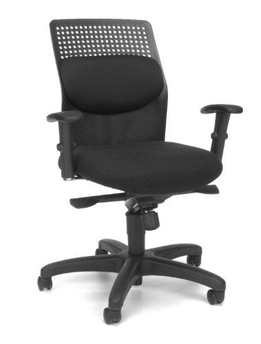OFM AirFlo Series Executive Task Chair - Ergonomic Work Chair, Black (650-M11)