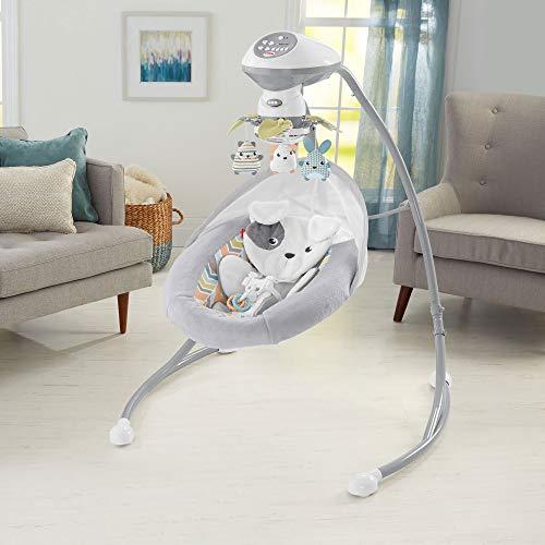 Fisher-Price Sweet Snugapuppy Dreams Cradle 'n Swing