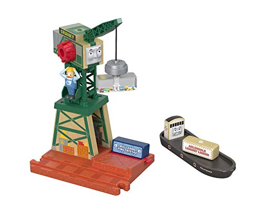 Fisher-Price Thomas & Friends Wood, Cranky At the Docks (Thomas And Friends Wooden Railway Cranky The Crane)