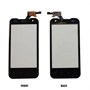 Touch Screen Digitizer Front Glass Faceplate Lens Part Panel for LG Optimus 2X P990 and Mobile Phone Repair Parts Replacement