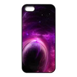 Purple Solar Storm iPhone 4 4s Cell Phone Case Black&Phone Accessory STC_220409