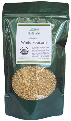 Hunza Organic White Popcorn 2 lbs product image