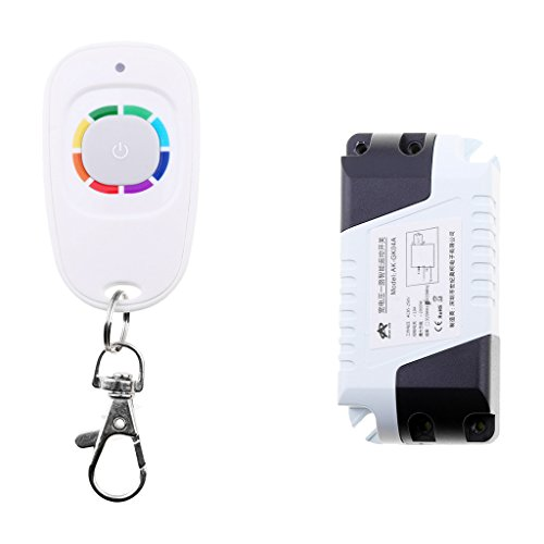 MagiDeal 1CH 433M Wireless RF Relay Switch Receiver Remote Control Wide Application
