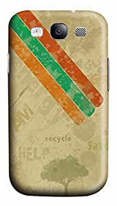 Abstract Recycle PC Case Cover for Samsung Galaxy S3 I9300 wangjiang maoyi
