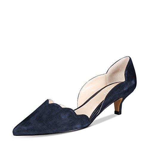 kitten heel womens dress shoes - 6