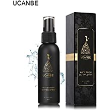 Natural Matte Finish Makeup Setting Spray - Long Lasting and All Day Extender...