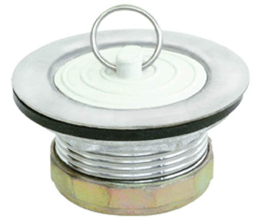 EZ-FLO 30041 Laundry Tray Plug, Stainless Steel