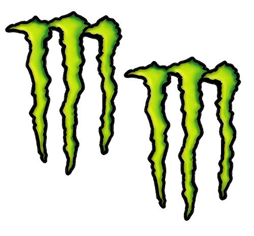 monster energy decal for car - 1