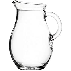 Small Glass Dressing Pitcher