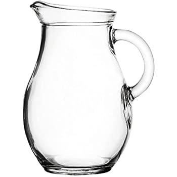 "Amazon.com | Mini Glass Pitcher 9 ounces - 5"" High. Child Sized"
