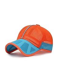 XibeiTrade Summer Kids Breathable Quick Dry Mesh Baseball Cap Boy Gir Sun Hat